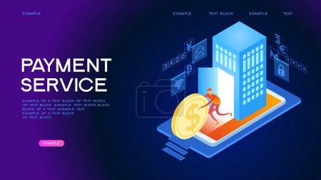 付款服务 Web 横幅_高清图片_邑石网