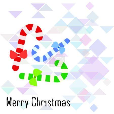 圣诞卡, 糖果棒, 向量背景_高清图片_邑石网