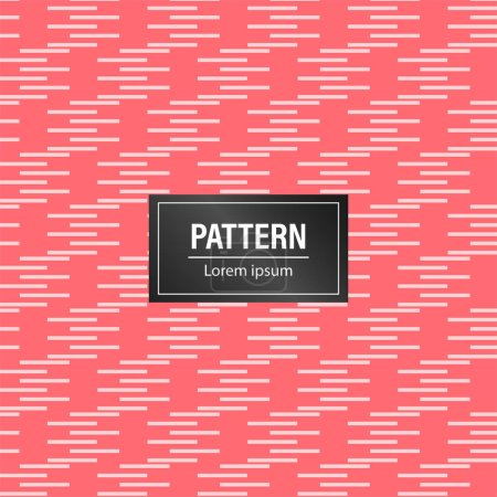 最小抽象模式背景。带粉红色背景的几何图案