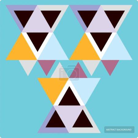 具有五颜六色的几何形状、三角形、线条的矢量图案。五颜六色的背景, 无缝的背景图案, 横幅_高清图片_邑石网