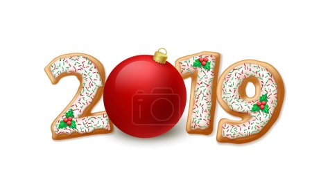 2019 New Year illustration