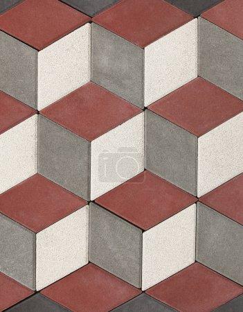 灰色和红色块